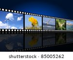movie background | Shutterstock . vector #85005262