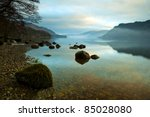 Ullswater At Sunrise  Lake...