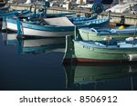 detail shot from fishing boats... | Shutterstock . vector #8506912
