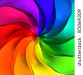 Colorful Abstract Twisted...