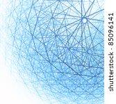 techno cloud abstract... | Shutterstock . vector #85096141