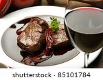 Fillet Mignon In Red Wine Sauce