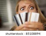 Upset Robed Woman Glaring At...