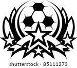 Soccer Ball Vector Graphic...
