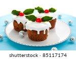 Christmas Mini  Cakes With...