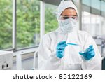 protected science student... | Shutterstock . vector #85122169