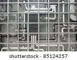 Industrial Background Of Pipes...