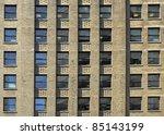 windows of a modern office... | Shutterstock . vector #85143199