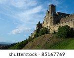 carcassonne medieval famous... | Shutterstock . vector #85167769