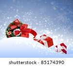 new year and christmas holidays ... | Shutterstock . vector #85174390
