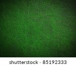 Green Leather Background Or...