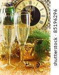 beautiful christmas still life | Shutterstock . vector #85196296
