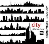 city background 2 vector | Shutterstock .eps vector #8521009
