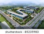3d render of a building | Shutterstock . vector #85235983