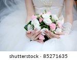 wedding flowers | Shutterstock . vector #85271635