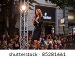 prague september 24  a model... | Shutterstock . vector #85281661