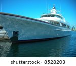 luxury yacht | Shutterstock . vector #8528203