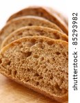 Closeup Of Sliced Bread On A...