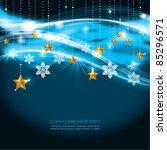 contemporary christmas...   Shutterstock .eps vector #85296571