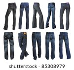 jeans collection | Shutterstock . vector #85308979