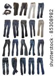 jeans collection | Shutterstock . vector #85308982