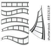 film strip vector illustration... | Shutterstock .eps vector #85313119