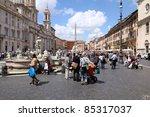 Rome   May 13  Tourists At...