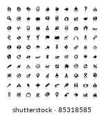 set of 100 perfect designer... | Shutterstock . vector #85318585