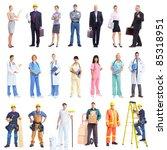 industrial contractors workers...   Shutterstock . vector #85318951