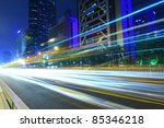 busy city traffic and urban... | Shutterstock . vector #85346218