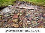 Pure  Clean Glacier Water Runs...