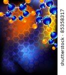 molecule | Shutterstock . vector #85358317