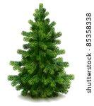 pine tree   raster version | Shutterstock . vector #85358338
