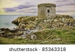 martello tower on ireland's eye ...