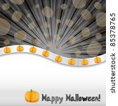 halloween background with... | Shutterstock .eps vector #85378765