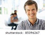 businessman in office | Shutterstock . vector #85396267