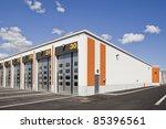 warehouse with modern... | Shutterstock . vector #85396561