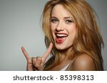 emotions  cosmetics | Shutterstock . vector #85398313
