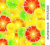 citrus background | Shutterstock .eps vector #85415260