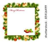 christmas card background....   Shutterstock .eps vector #85416499