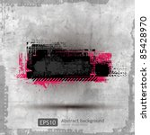 abstract grunge banner design... | Shutterstock .eps vector #85428970