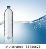 bottle of water | Shutterstock . vector #85466629
