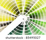 Colorful Swatch Book With...