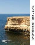 Rocky Cliffs  The Black Sea...