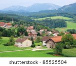 A Picturesque Village In The...