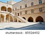 castle of rhodes  rodos  | Shutterstock . vector #85526452