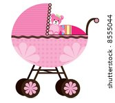 Illustration Of A Pram For A...