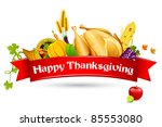 illustration of thanksgiving...