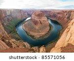 Colorado River Winds Through...