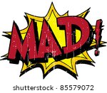 mad | Shutterstock .eps vector #85579072